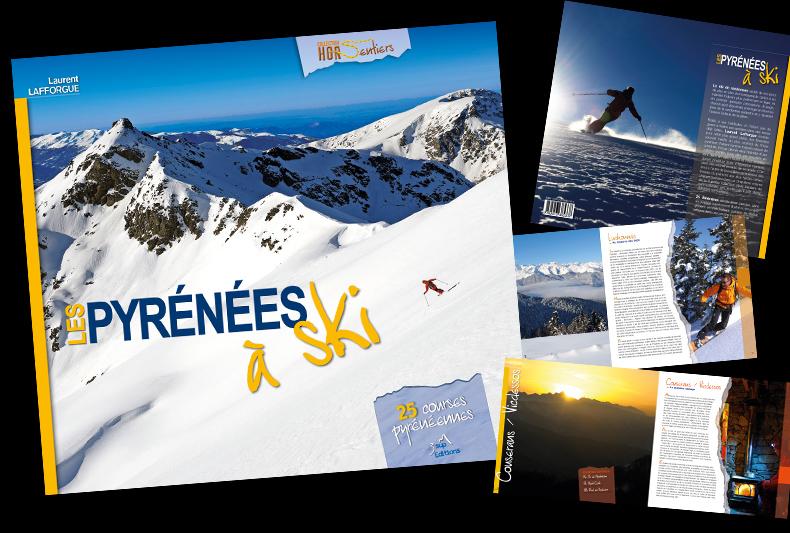 Les Pyrénées à Ski - Nouvelle Parution